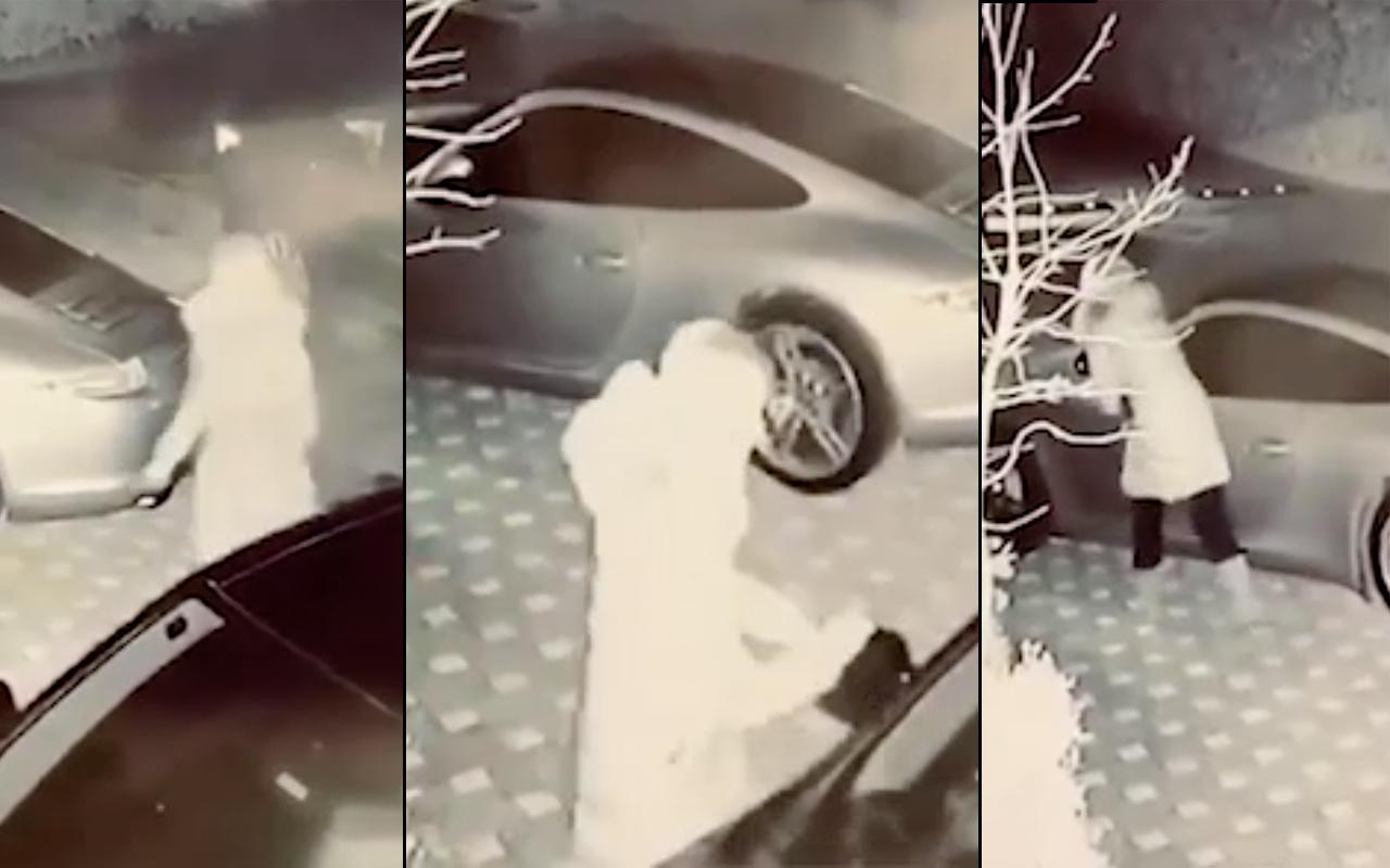 Ece Erken görüntüleri olay! Şafak Mahmutyazıcıoğlu eşi paylaştı