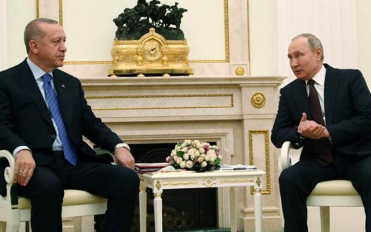 Cumhurbaşkanı Erdoğan'dan Putin ile kritik İdlib görüşmesi