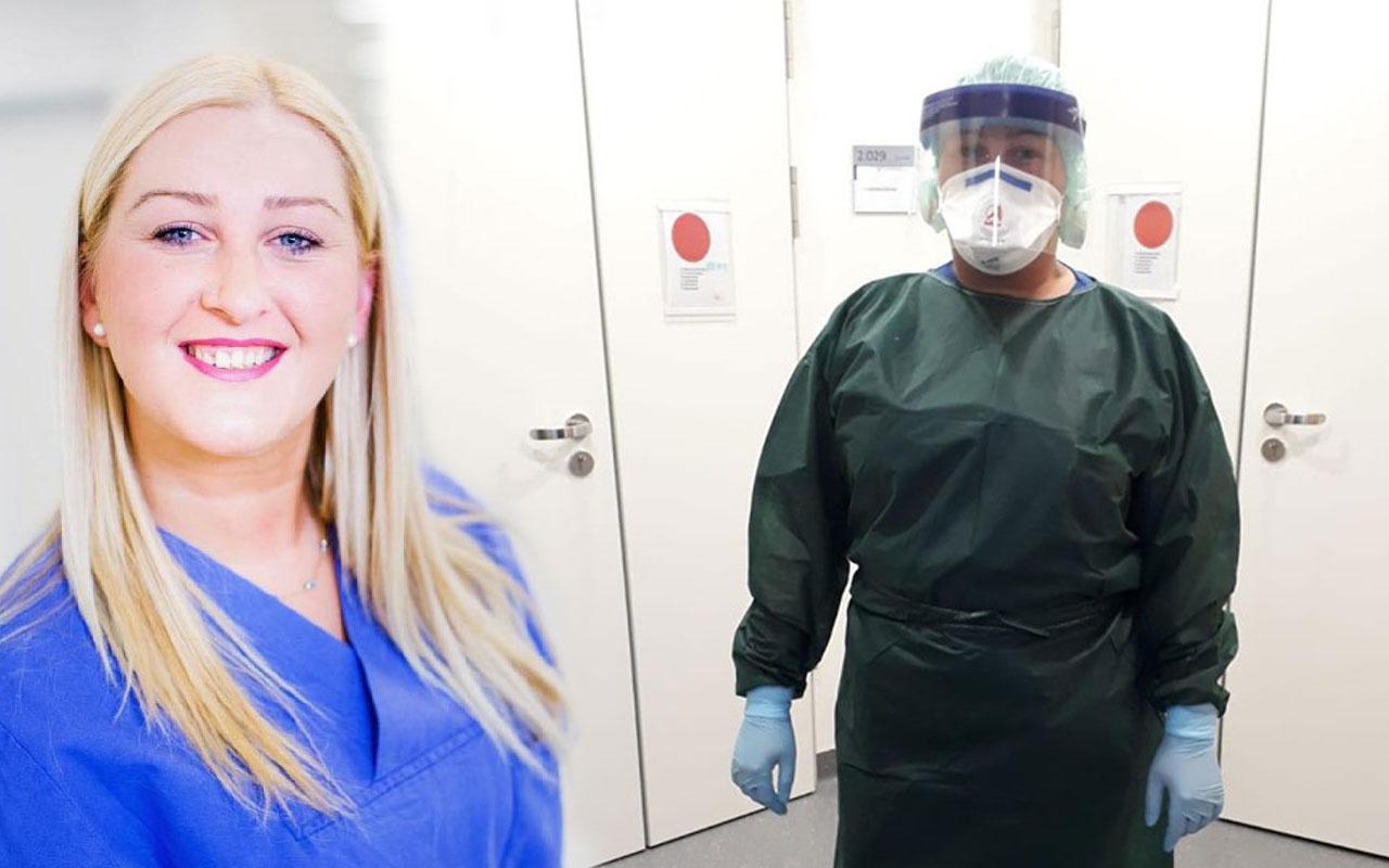 Almanya'da koronavirüs hastalarına bakan Türk hemşireden tavsiyeler
