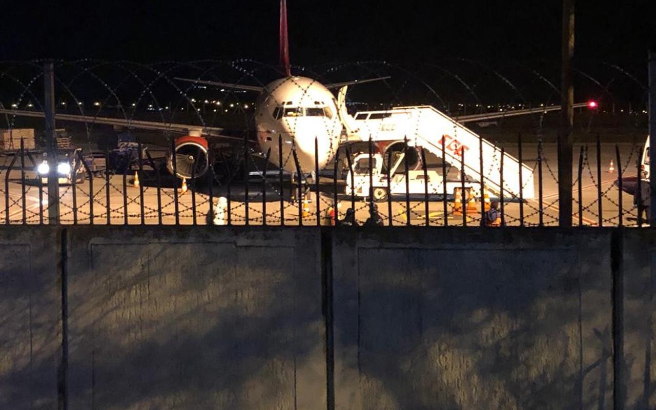 Bağdat'tan Ankara Esenboğa Havalimanı'na gelen uçaktaki 57 kişi karantinaya alındı
