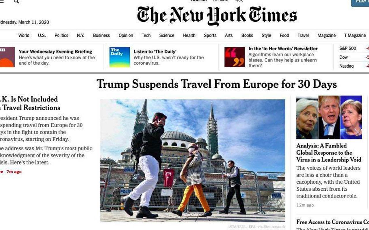 Fahrettin Altun uyardı New York Times-CNN-BBC tepki çeken fotoğrafları kaldırdı