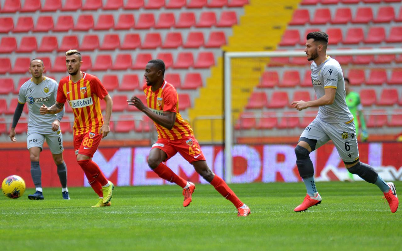 Kayserispor Yeni Malatyaspor maçı golleri ve geniş özeti