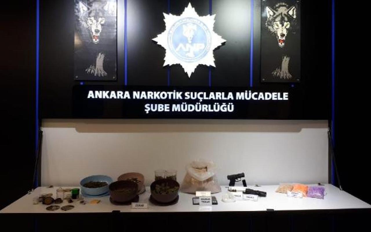 Ankara'da uyuşturucu operasyonunda 31 kişi tutuklandı