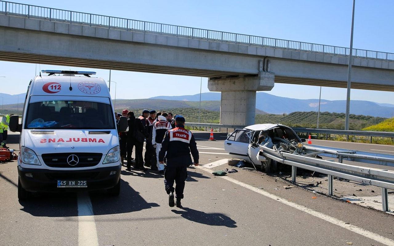 Manisa'da dehşete düşüren kaza: 3 ölü