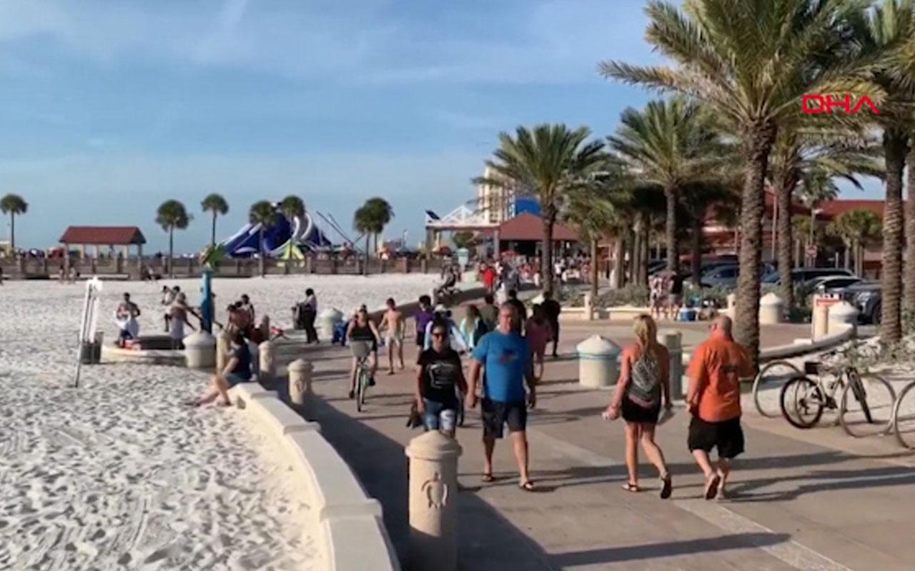 Florida koronavirüs dinlemedi