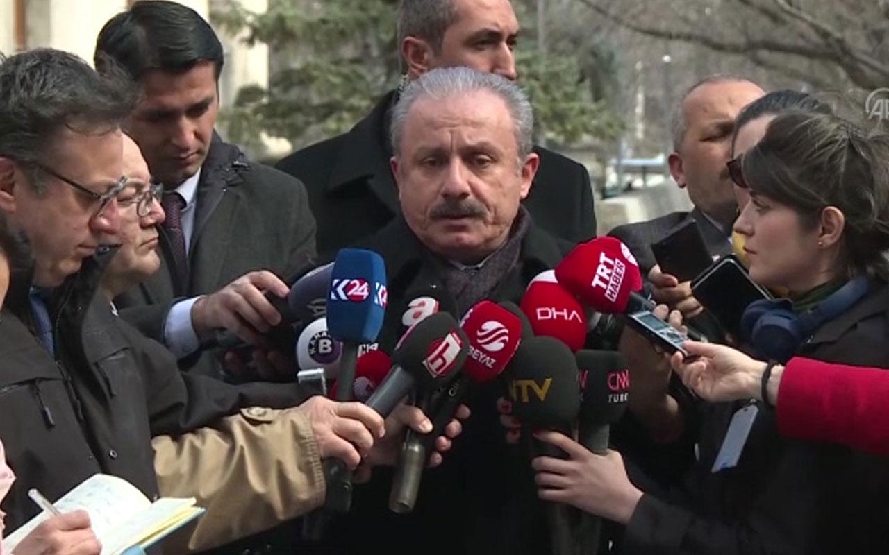 TBMM Başkanı Mustafa Şentop: Umreden dönen hiçbir milletvekili yoktur