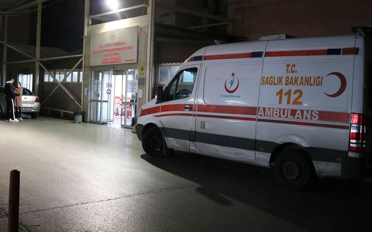 İzmir'de kahreden olay! Ambulansun çarptığı karı koca can verdi