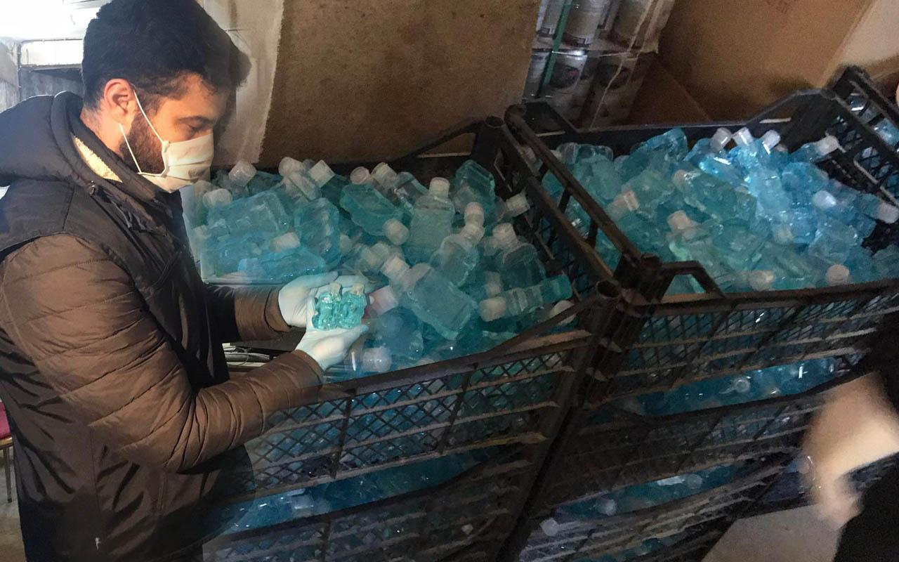 Gaziosmanpaşa'da Corona virüs bahanesiyle sahte dezenfektan fırsatçılığı