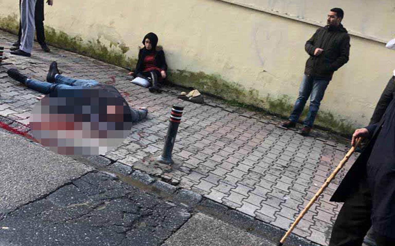 Ümraniye'de kadını vurup intihar etti dehşet manzara