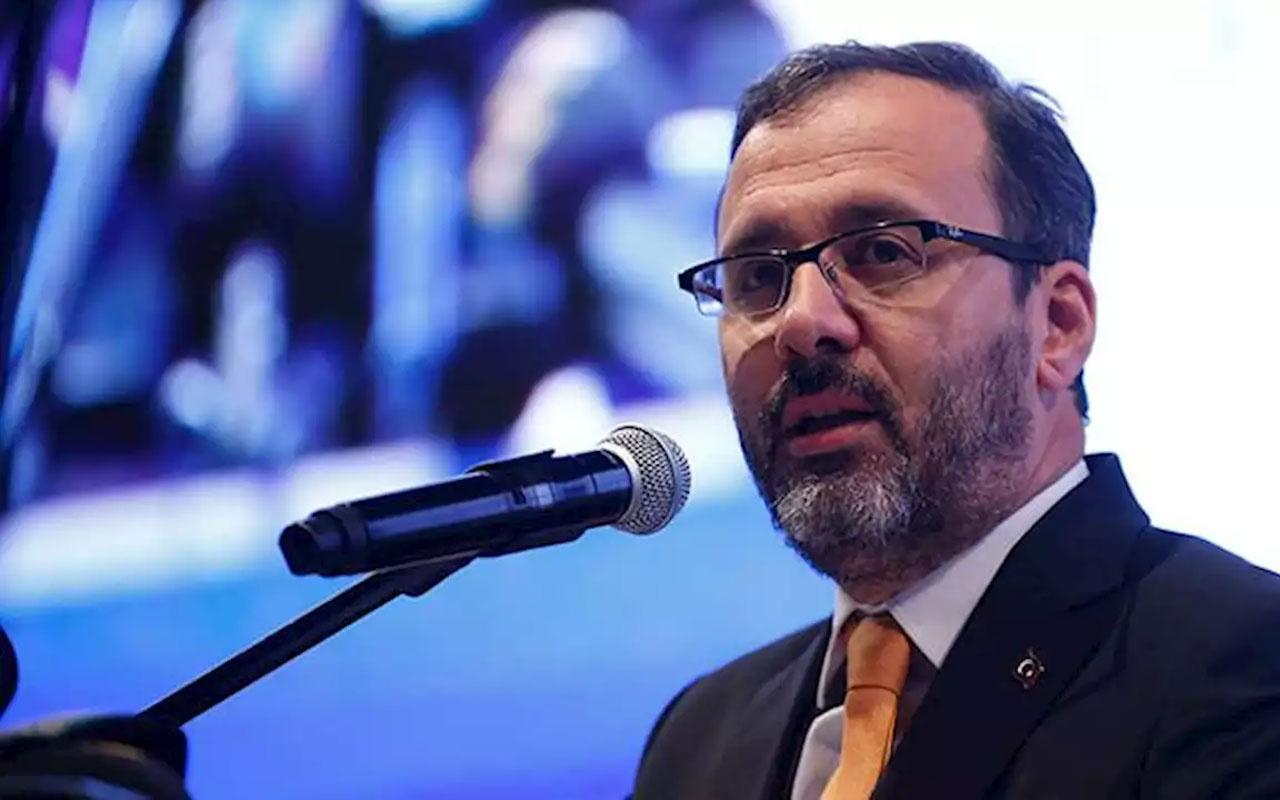 Gençlik ve Spor Bakanı Kasapoğlu açıkladı! Ligler ertelenecek mi?