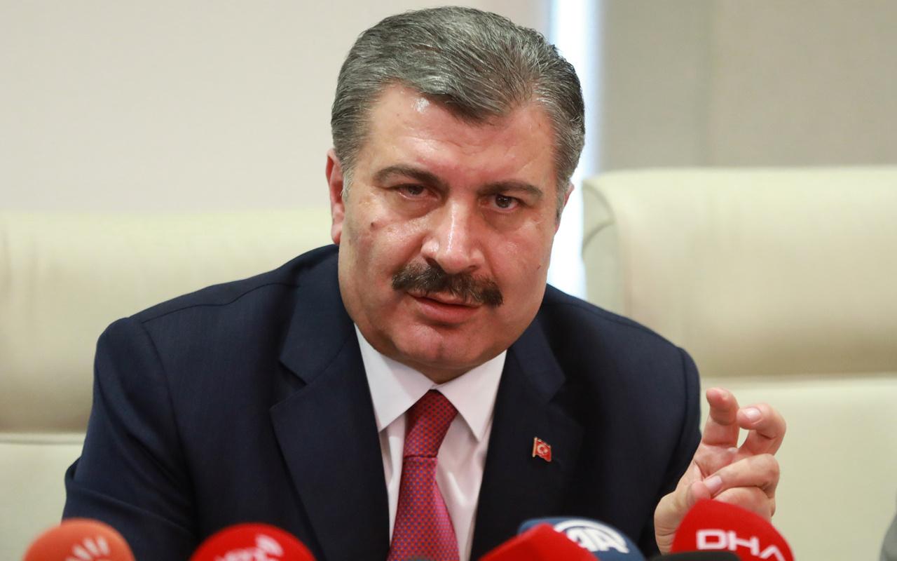 Koronavirüs sayısı kaç? Sağlık Bakanı Fahrettin Koca Türkiye'deki durumu açıkladı