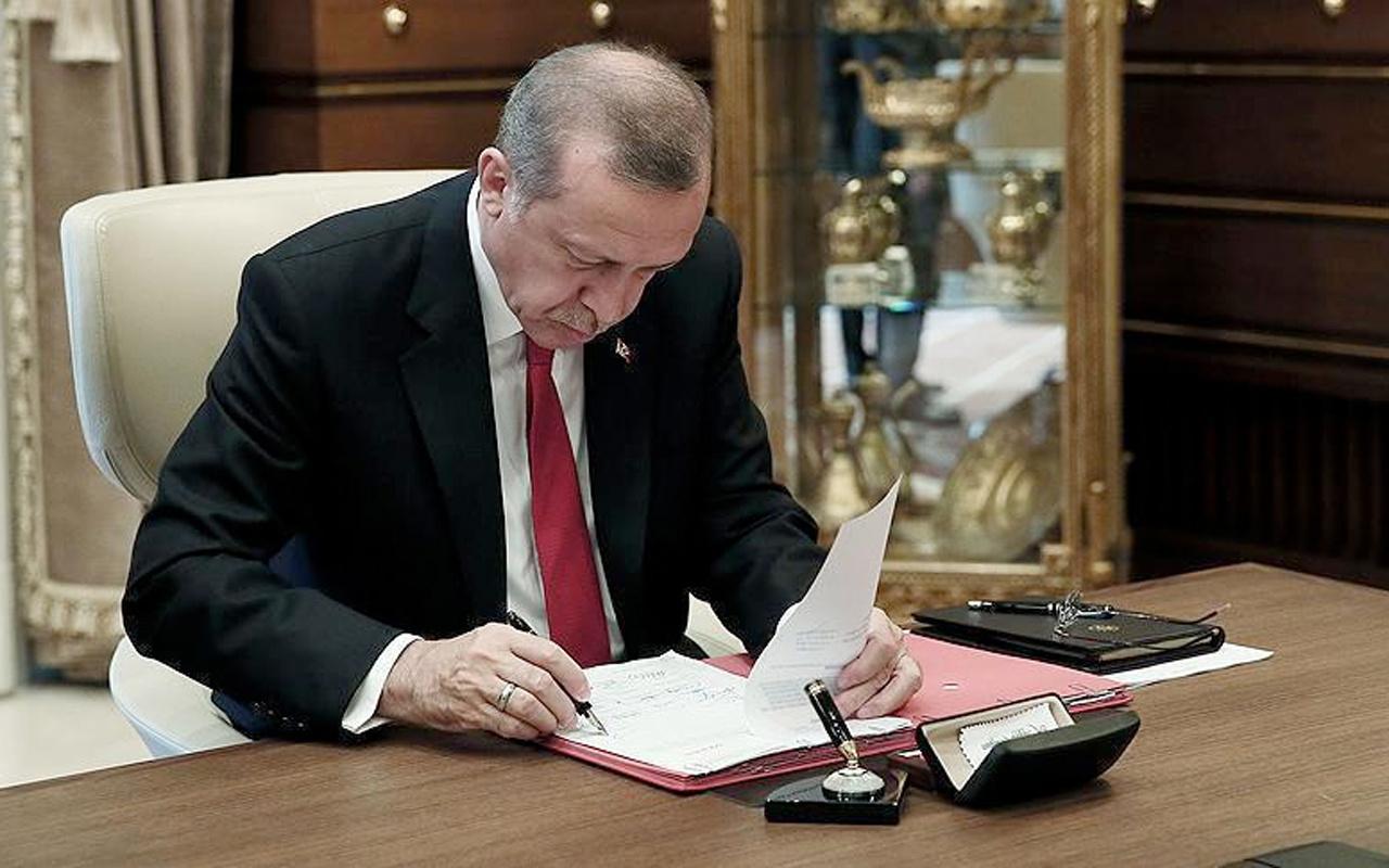 Cumhurbaşkanı Erdoğan imzaladı nisan ayı sonuna kadar ertelendi