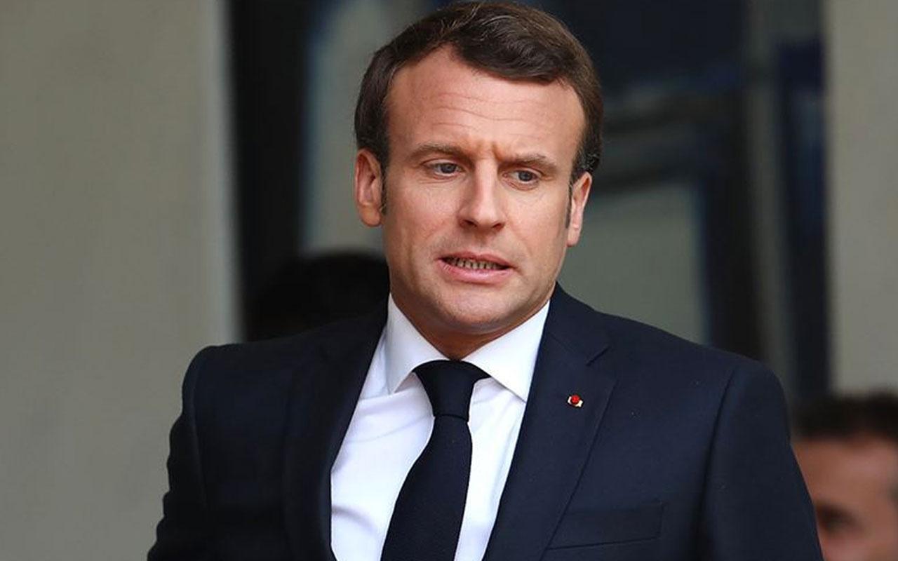 Fransa Cumhurbaşkanı Macron'dan, Paris Camisi'ne ziyaret