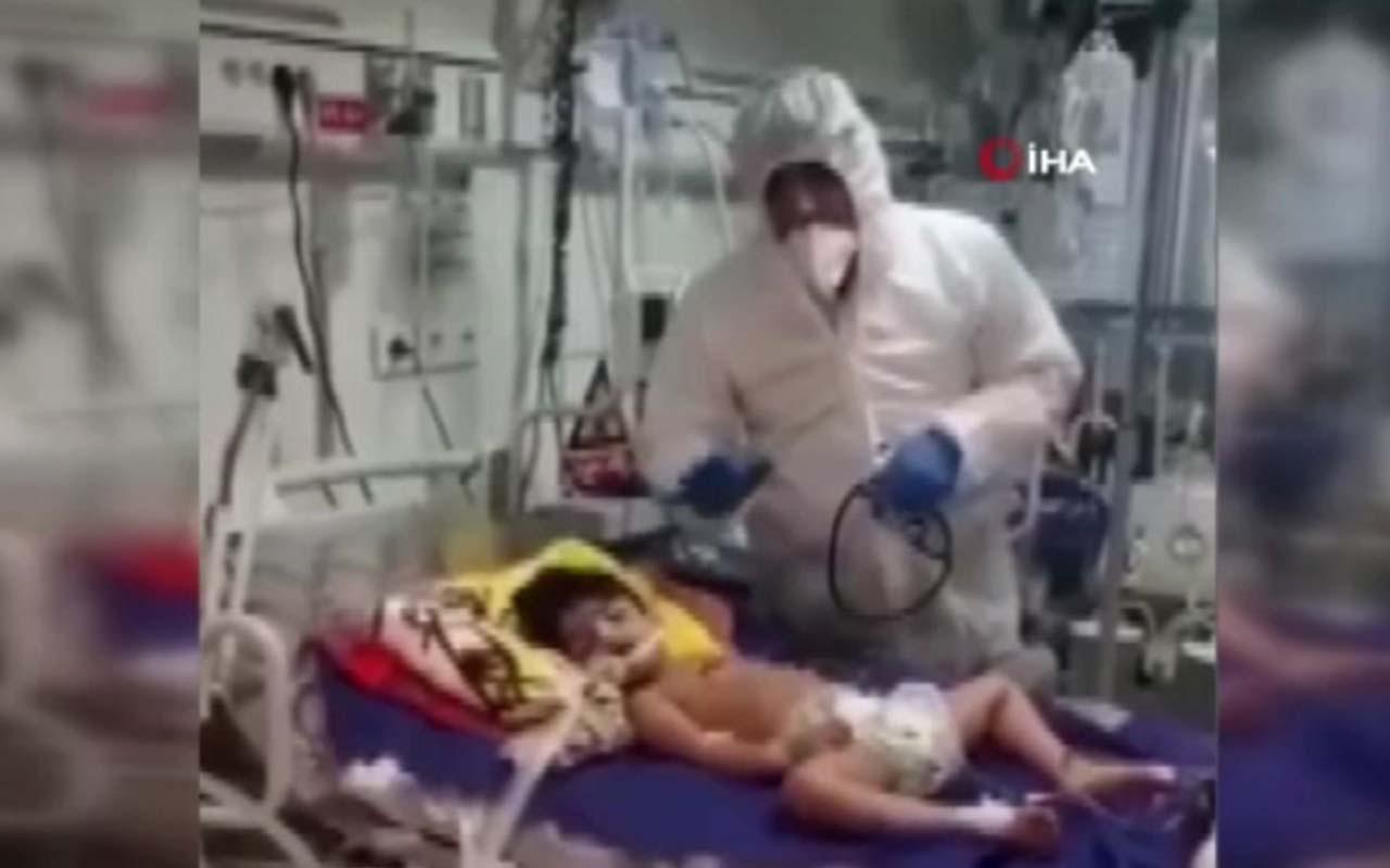 İran'da 5 yaşındaki çocuğa koronavirüsten korusun diye alkol içirdiler