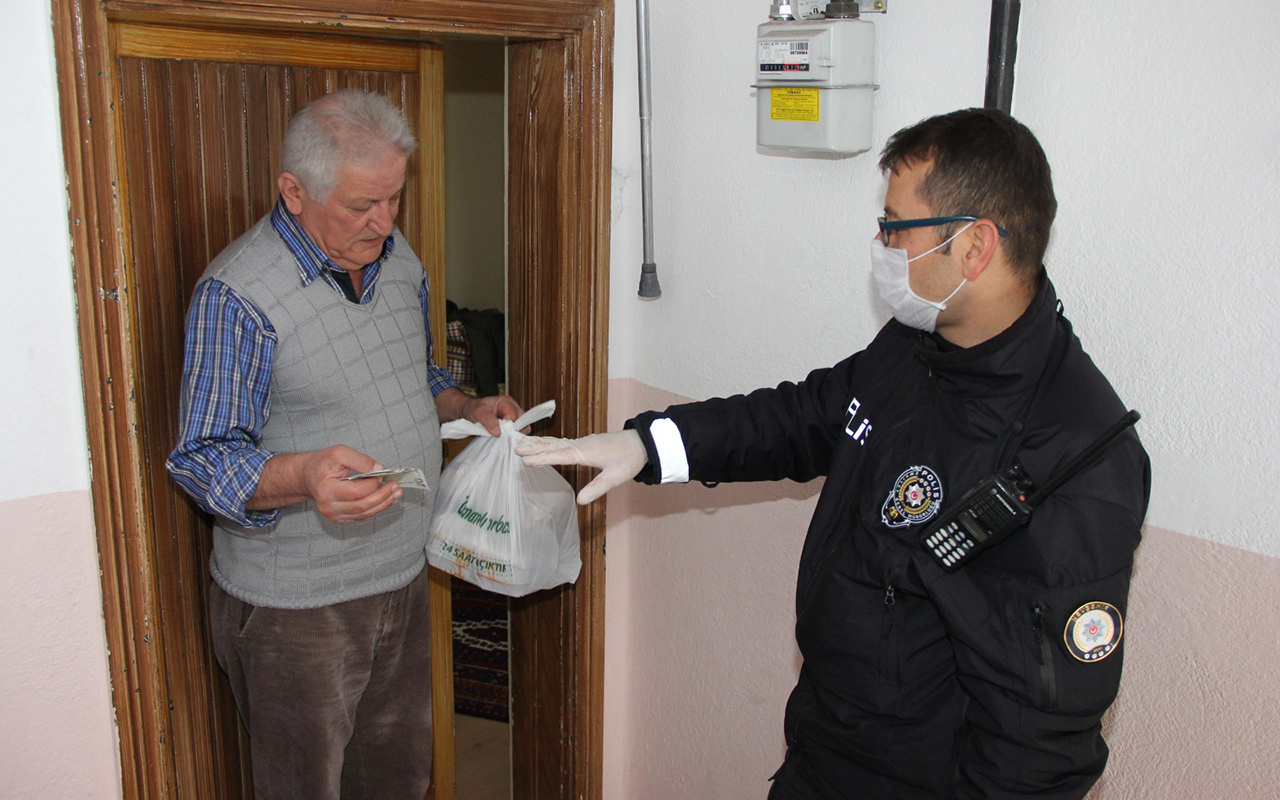 EGM yaşlı ve hasta vatandaşlardan gelen talepleri eksiksiz karşılıyor