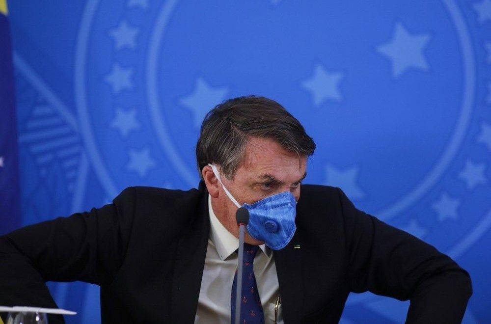 Brezilya Devlet Başkanı Jair Bolsonaro: Koronavirüs krizi medyanın bir oyunu