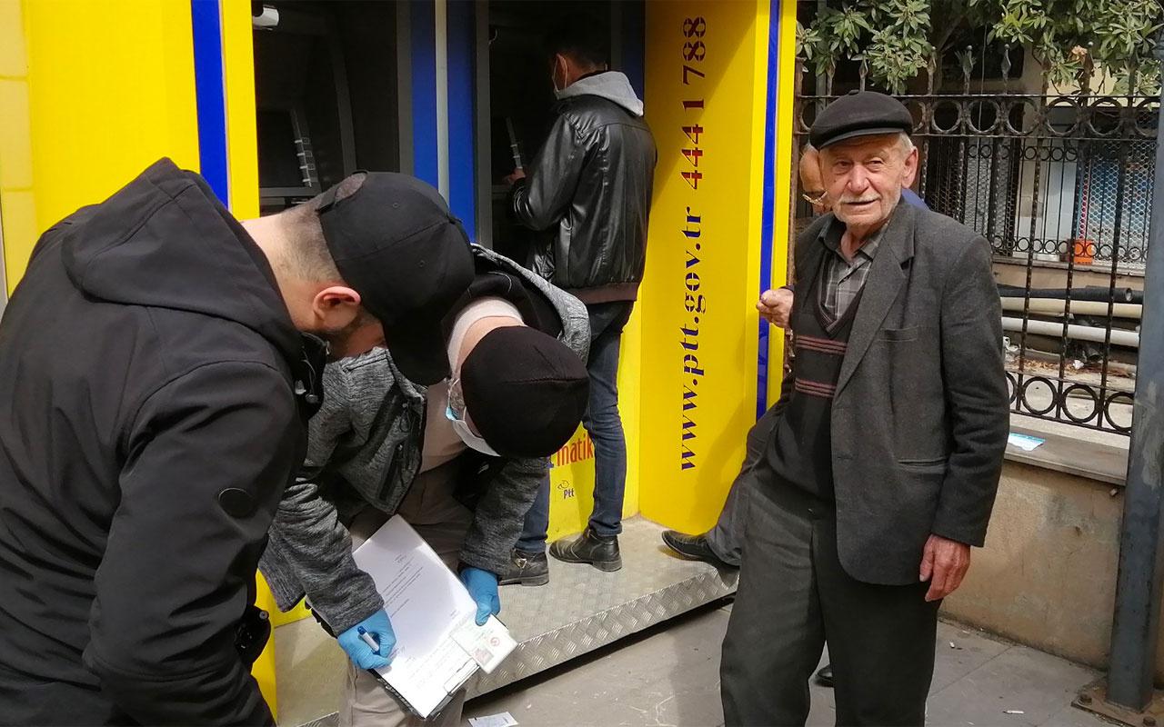 Sokağa çıkma yasağına uymayan 77 yaşındaki dedenin derdi