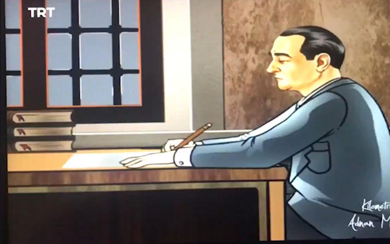 EBA TV'de Adnan Menderes'in idamını izletme görüntülerine tepki yağdı!