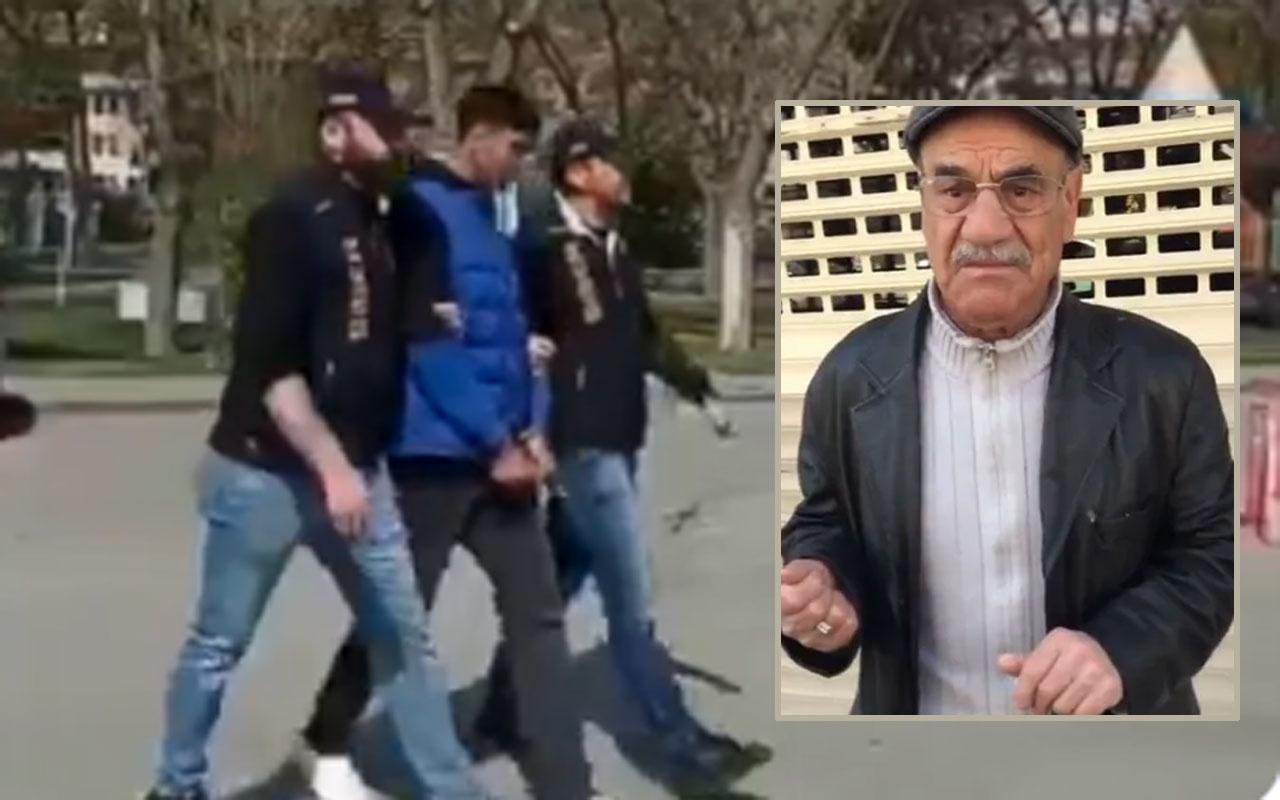 Görüntüler tepki çekmişti! Yaşlı adamın videosunu çeken şahıs yakalandı