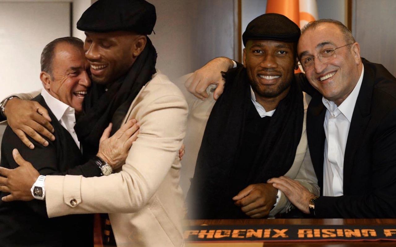 Didier Drogba'dan Terim ve Albayrak'a geçmiş olsun mesajı