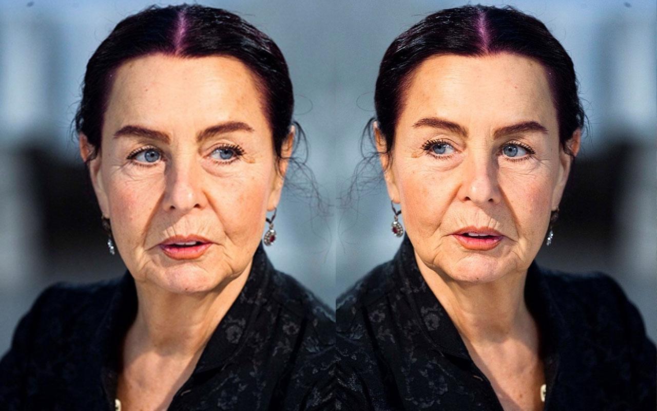 Yeşilçam'ın efsane oyuncusu Fatma Girik Bodrum'da korona virüs önlemi aldı!