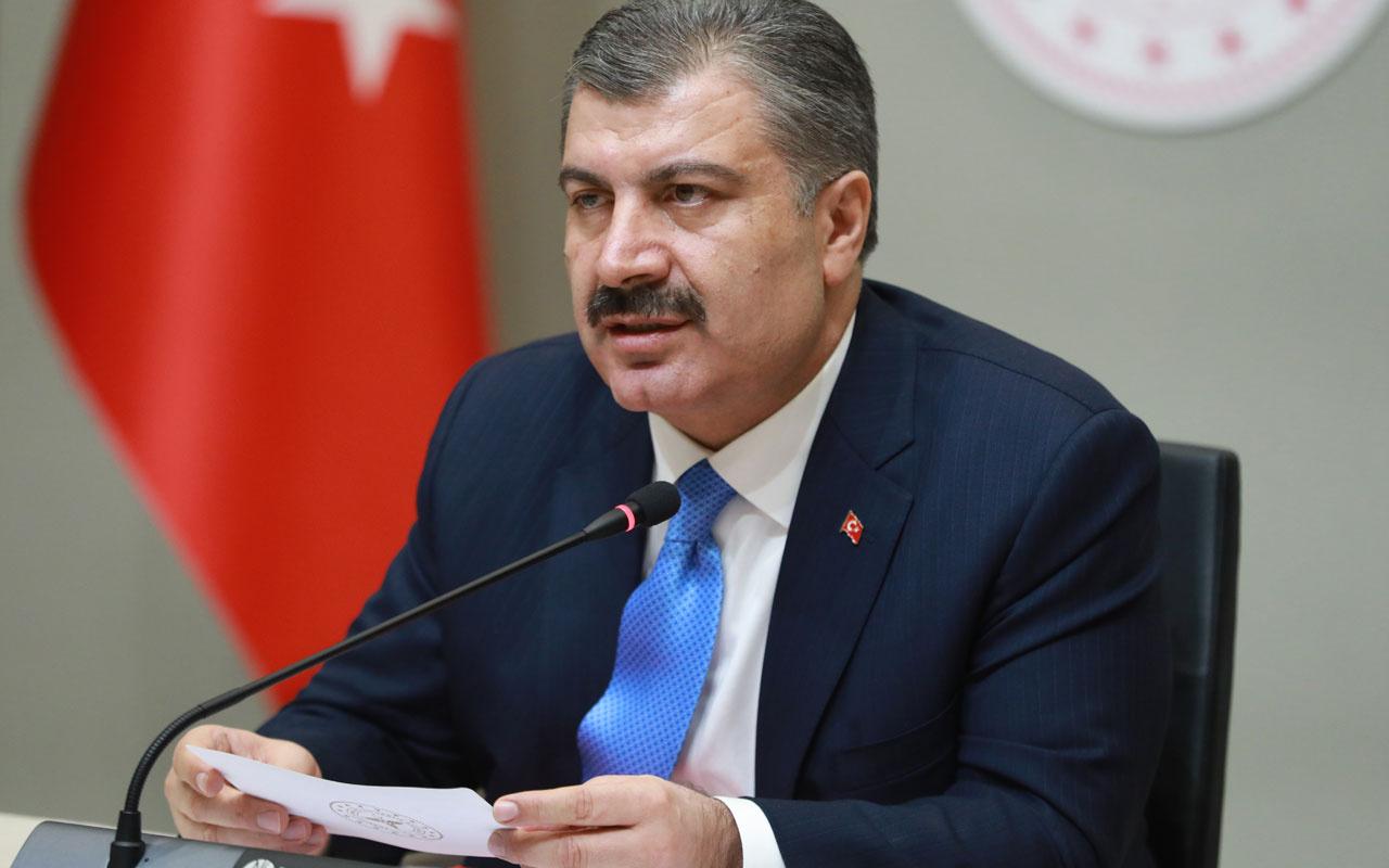 Koronavirüs aplikasyonu geliştirildi! Sağlık Bakanı Fahrettin Koca açıkladı
