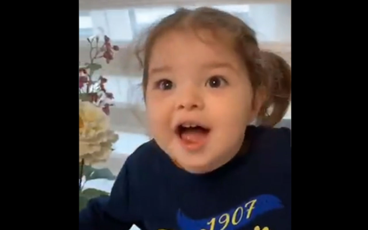 Sosyal medya 2 yaşındaki Alara Elif'i konuşuyor