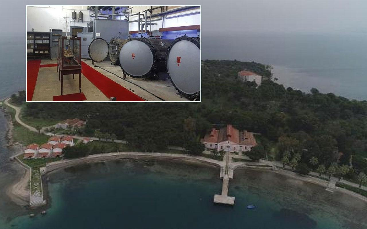 Urla Karantina Adası korona sonrası ilgi çekti Osmanlı salgınlar için ileri düzey sistem yapmış