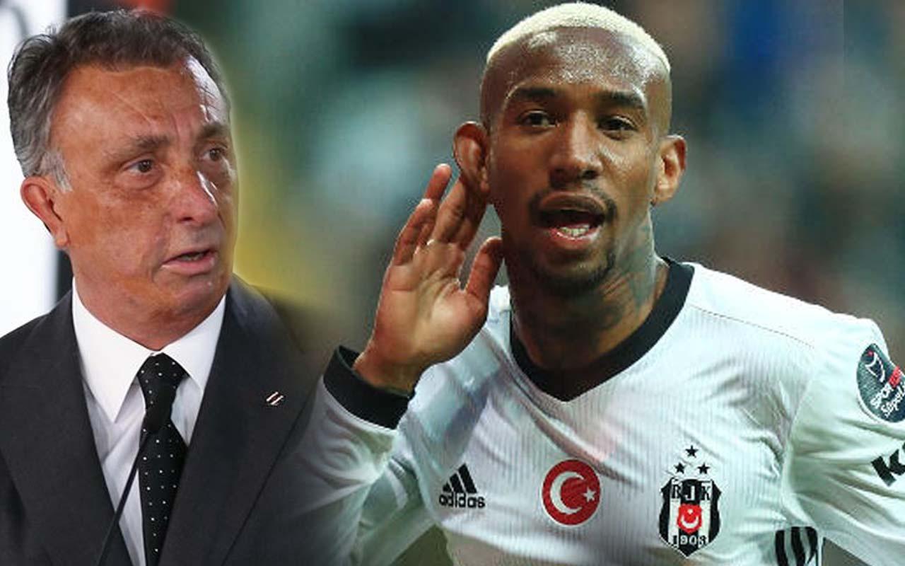 Talisca 'Beşiktaş benim evim' dedi başkan harekete geçti