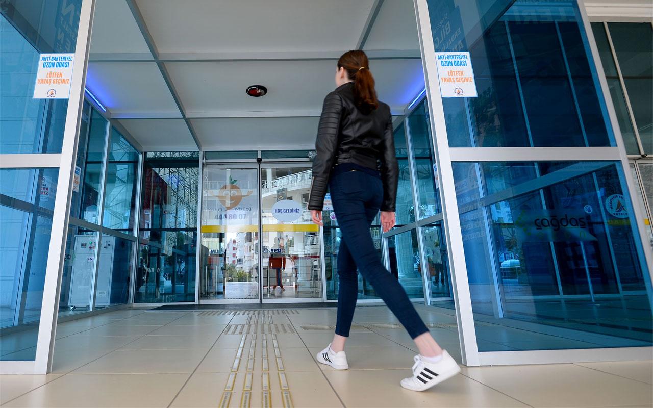Muratpaşa'da virüs savar oda Türkiye'ye örnek oldu