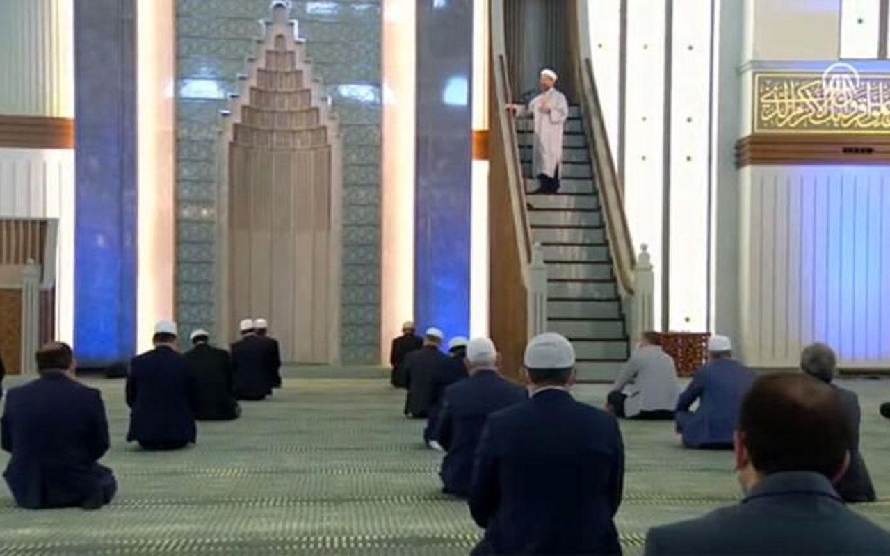 Beştepe'deki 'özel Cuma'nın cemaatinde kimler vardı? Murat Çelik açıkladı