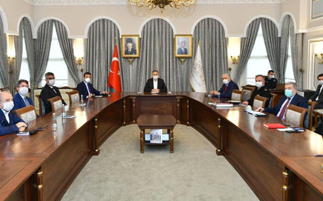 Erdoğan talimat vermişti! 81 ilin valiliklerinde pandemi kurulları toplantısı 9'da başladı