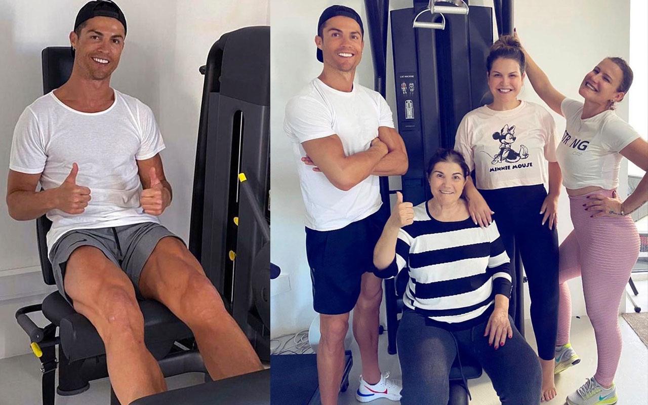 Cristiano Ronaldo'ya annesinden iyi haber