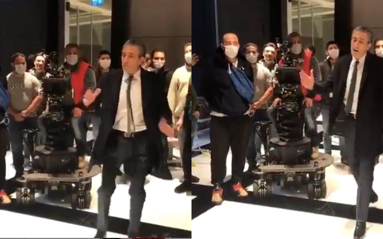Gel Dese Aşk'ın Murat'ı Erkan Petekkaya koronavirüs şarkısı söyledi kriz çıkardı