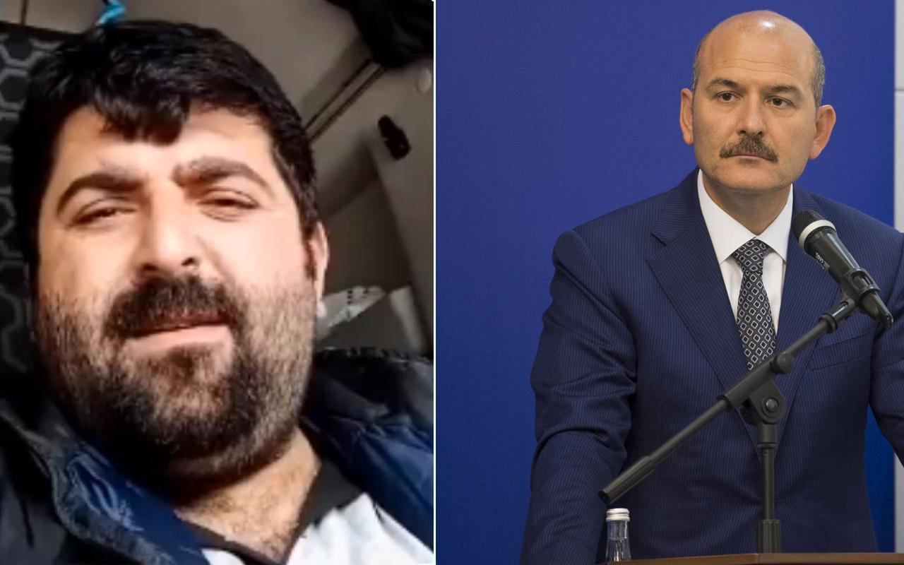 Bakan Soylu'dan 'beni senin düzenin öldürür' diyen şoför ile ilgili açıklama