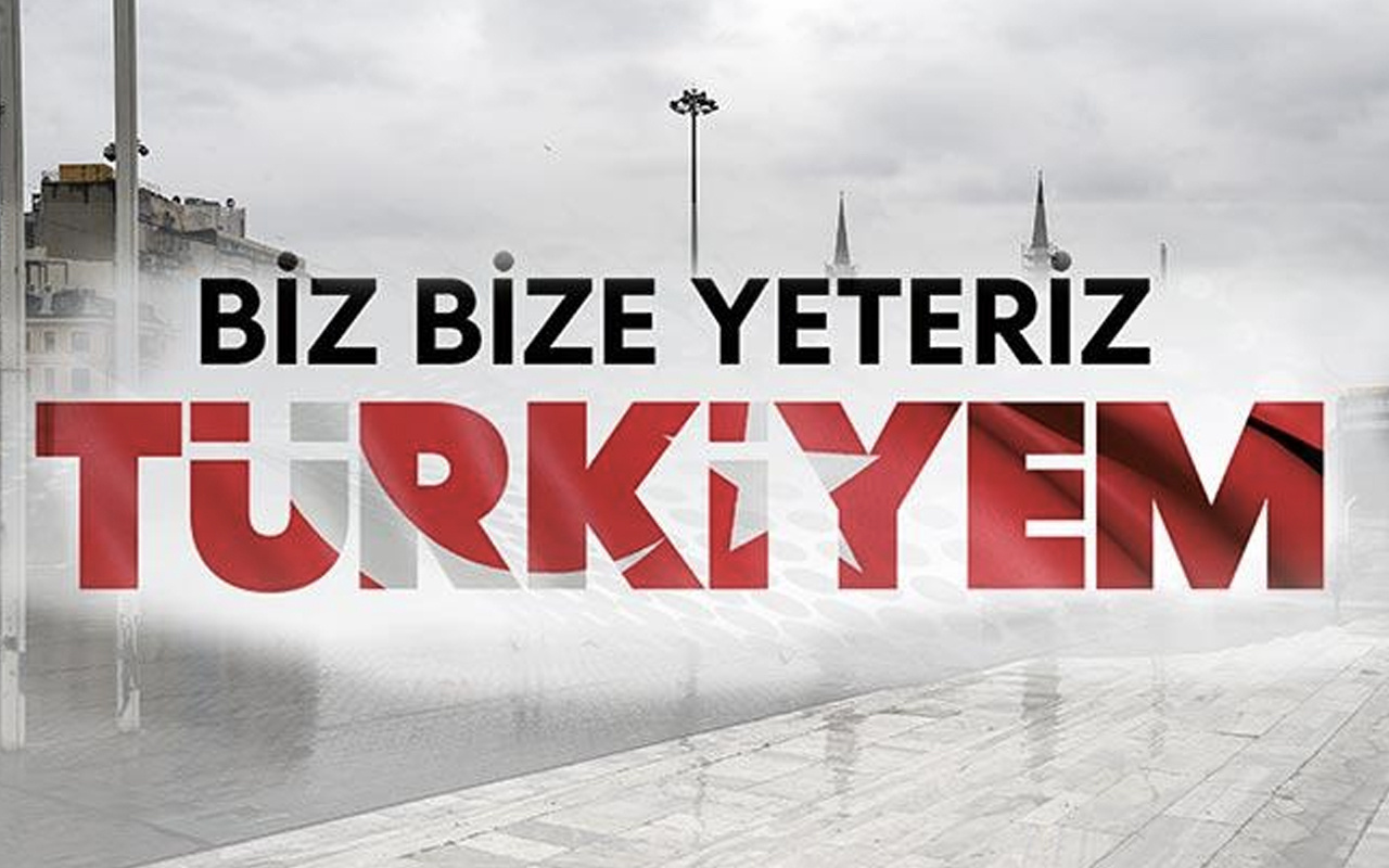 Bize Bize Yeteriz Türkiyem kampanyası İBAN numarası