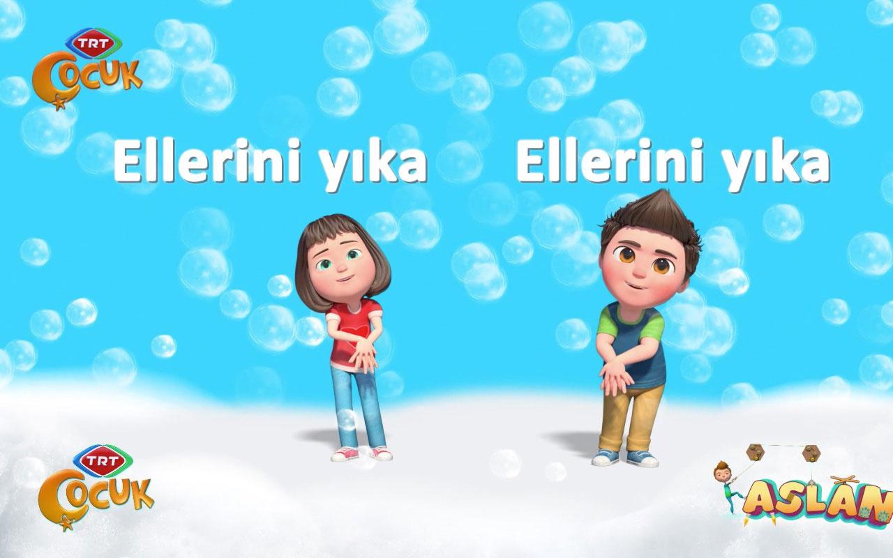 TRT Çocuk'un sevilen kahramanlarından ''El Yıkama'' şarkısı