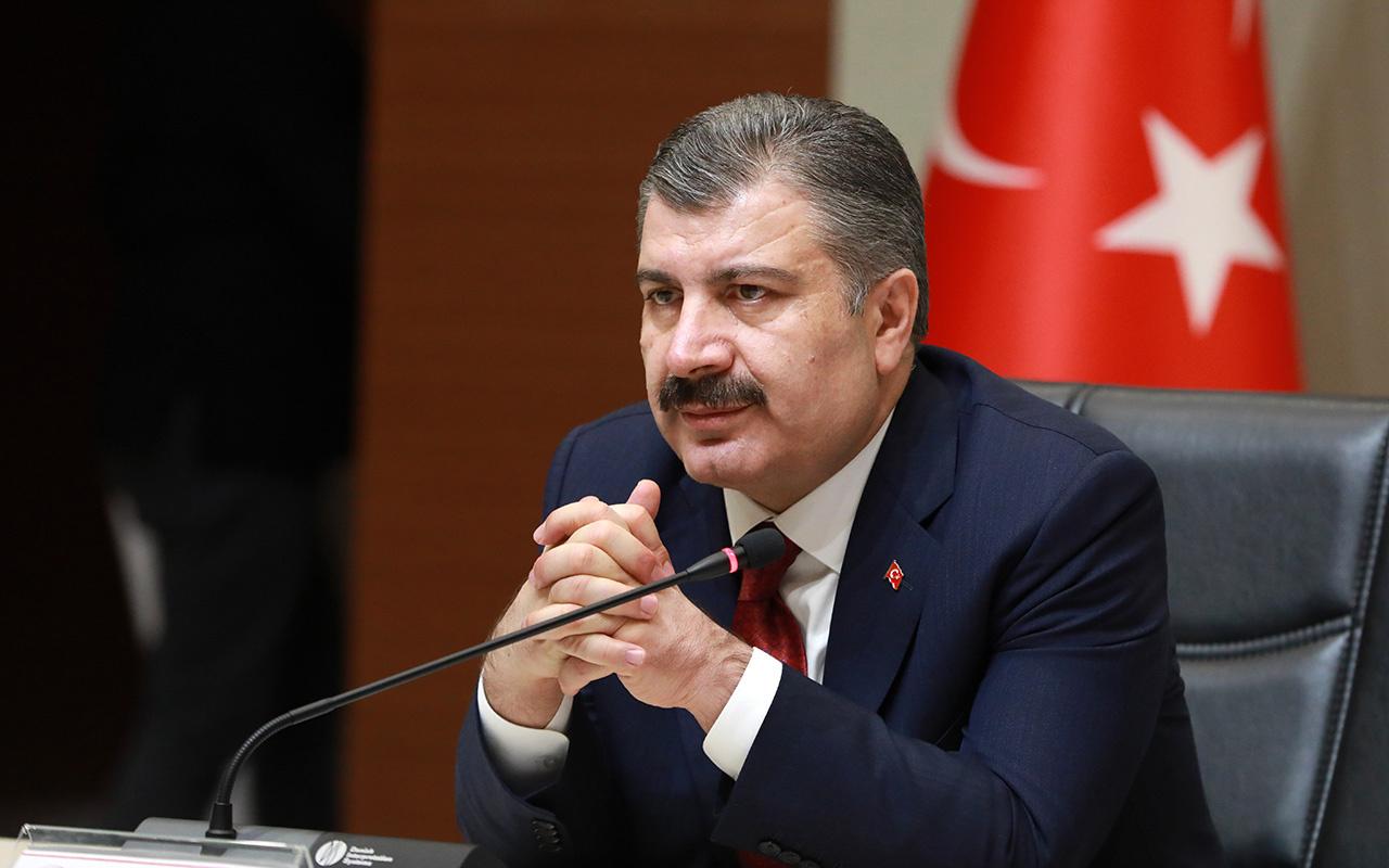 Sağlık Bakanı Fahrettin Koca ağlamanın eşiğine geldi: İçimden gelmiyor 601 kişi
