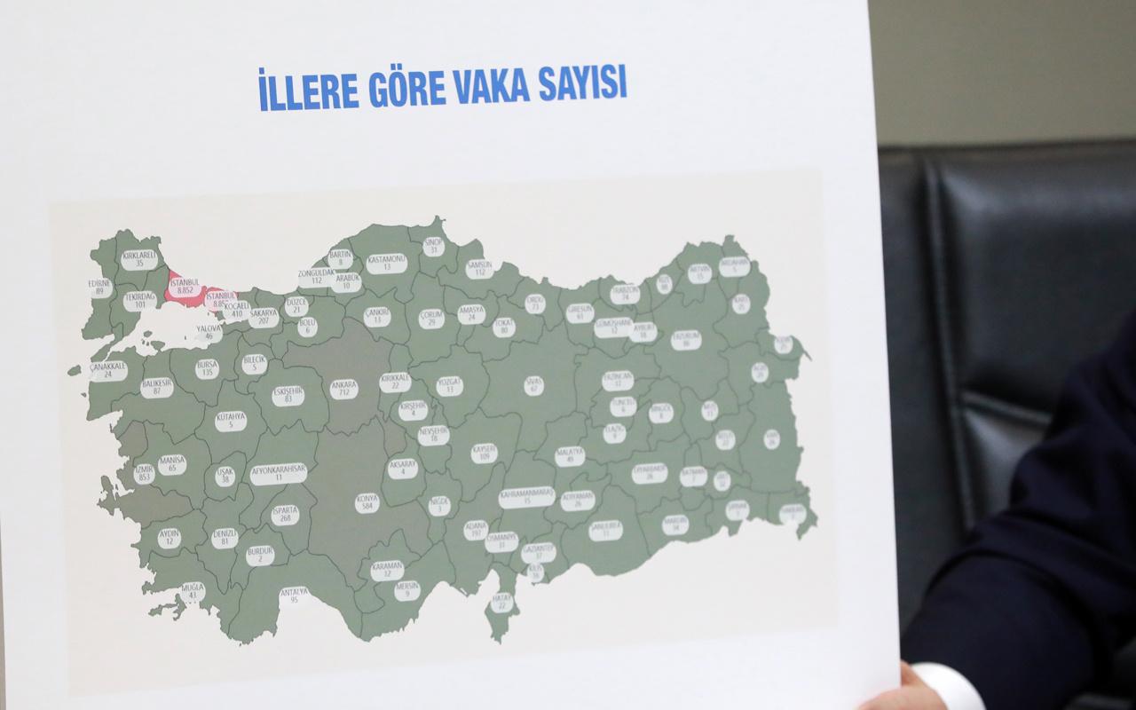 Tüm illerin koronavirüs vaka sayısı açıklandı! İstanbul'un sayısı inanılmaz