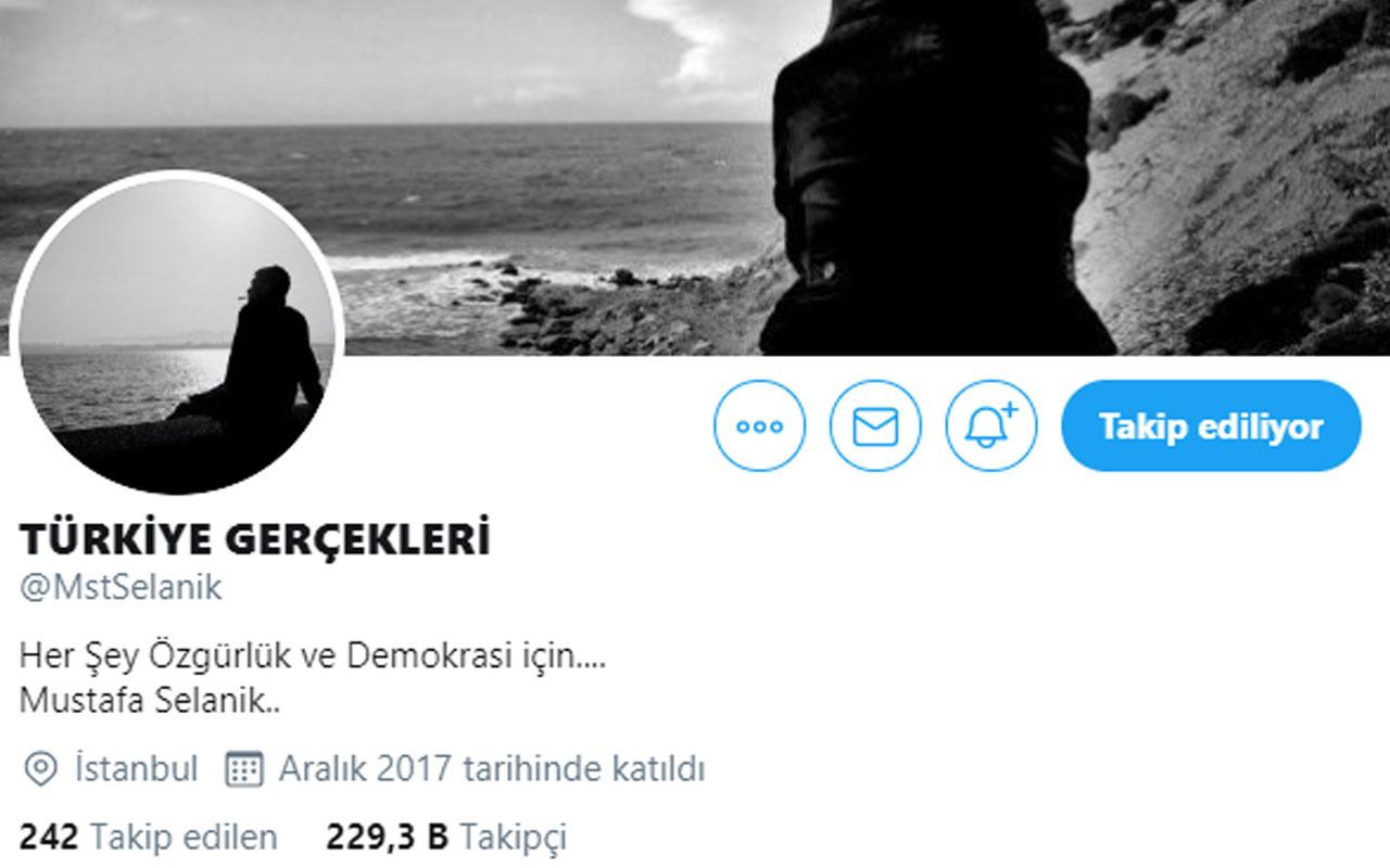 Twitter fenomeni Mustafa Selanik gözaltında