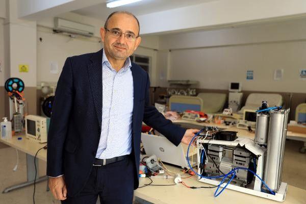 Antalya'da meslek lisesi öğrencileri solunum cihazı üretti! Üstelik yarı fiyatına mal ettiler