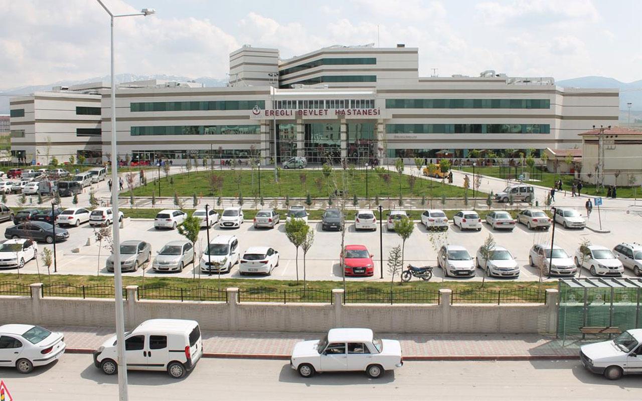 Konya'ya otobüsle gelen kadının testi pozitif çıktı ekipler 50 yolcunun peşinde