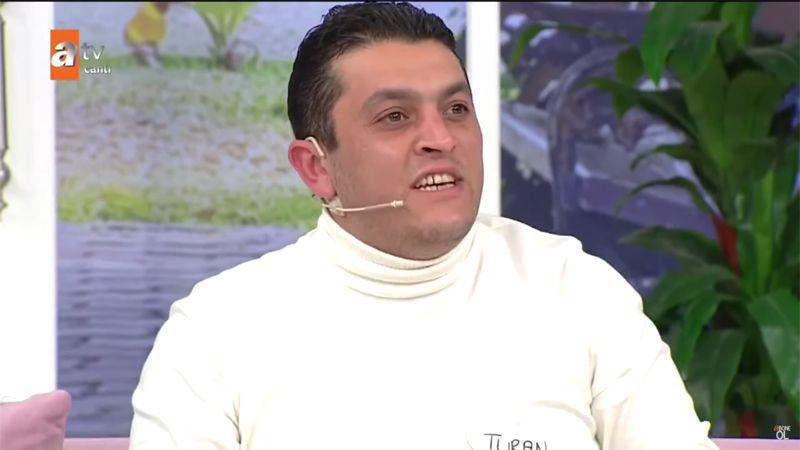 Esra Erol'da ATV canlı yayında Tülay Denizli eşinin önüne atıp gitti