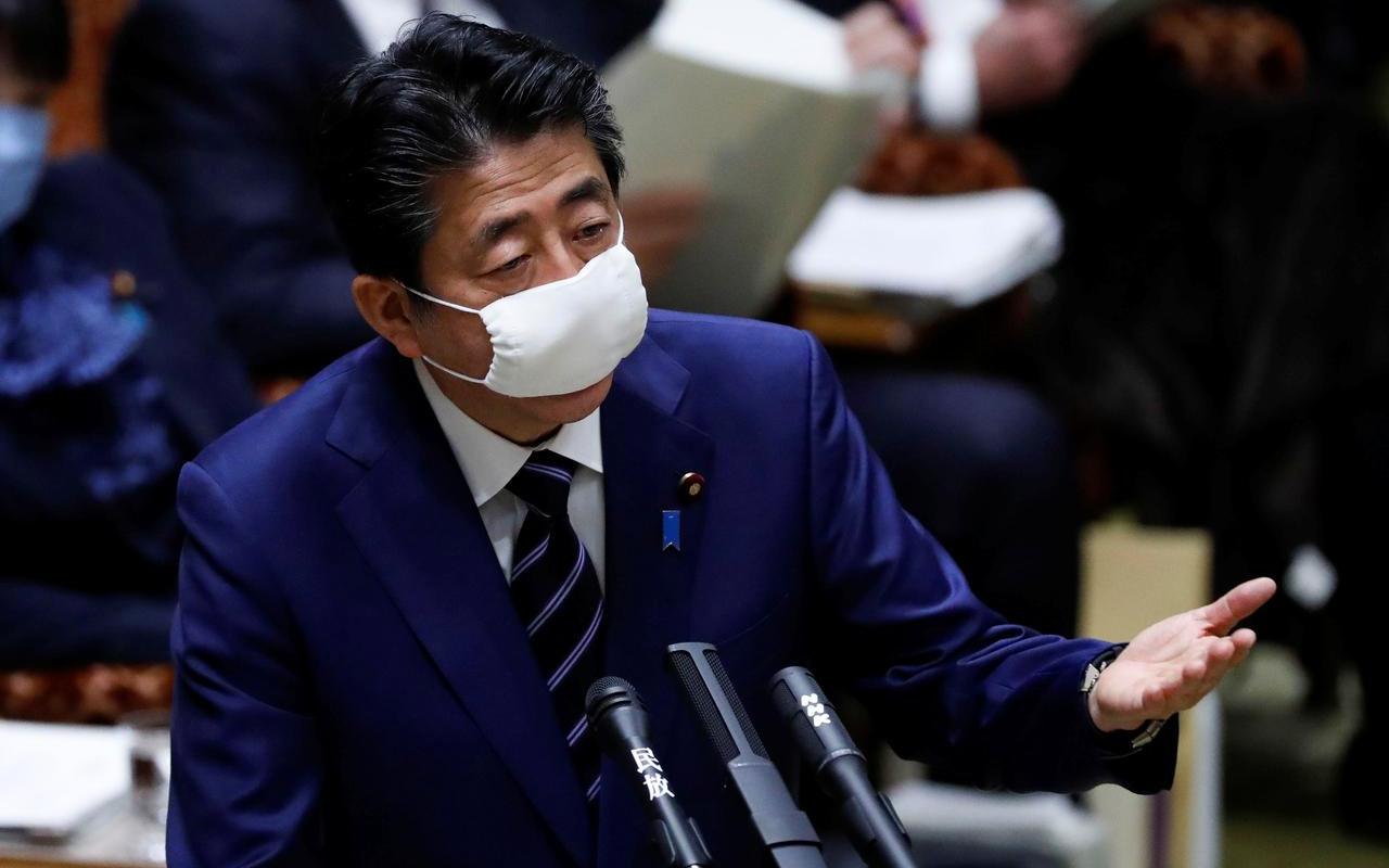 Japonya başbakanı korona kararıyla küfür yedi: Senin maskeni becereyim
