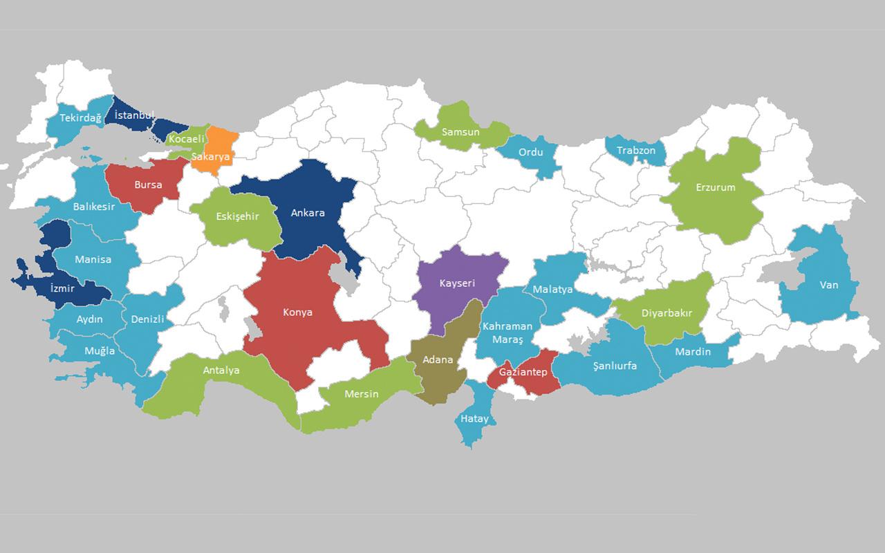 Türkiye büyükşehirlerine giriş çıkış yasaklandı! İşte 30 büyükşehirin listesi