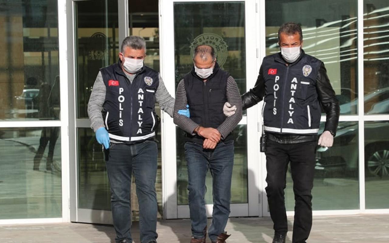 'Koronavirüslüyüm' diyerek polise tükürdü tutuklandı