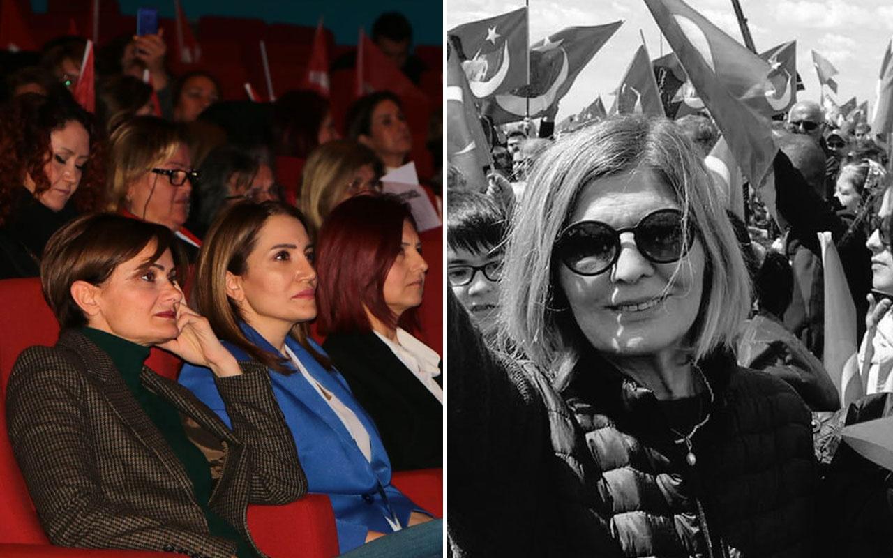 Canan Kaftancıoğlu'nun kongre inadı Ayşe Kaya koronavirüsten hayatını kaybetti