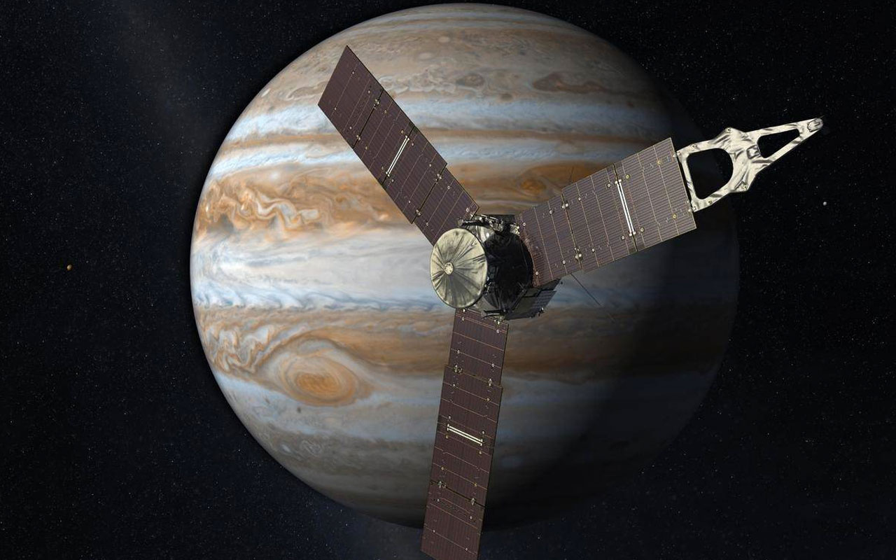 NASA, Jüpiter'in büyüleyici fotoğrafını yayınladı