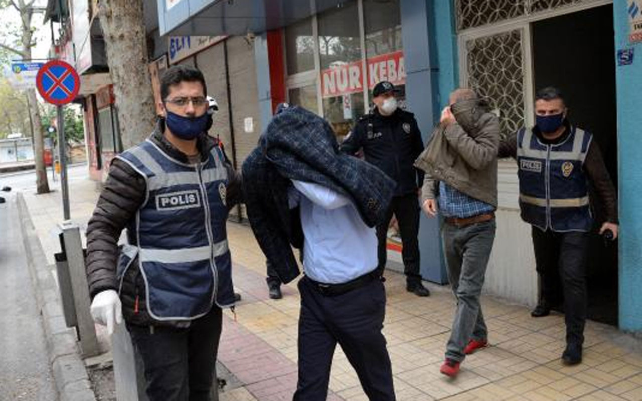 Korana karantinasında kumara yükle ceza