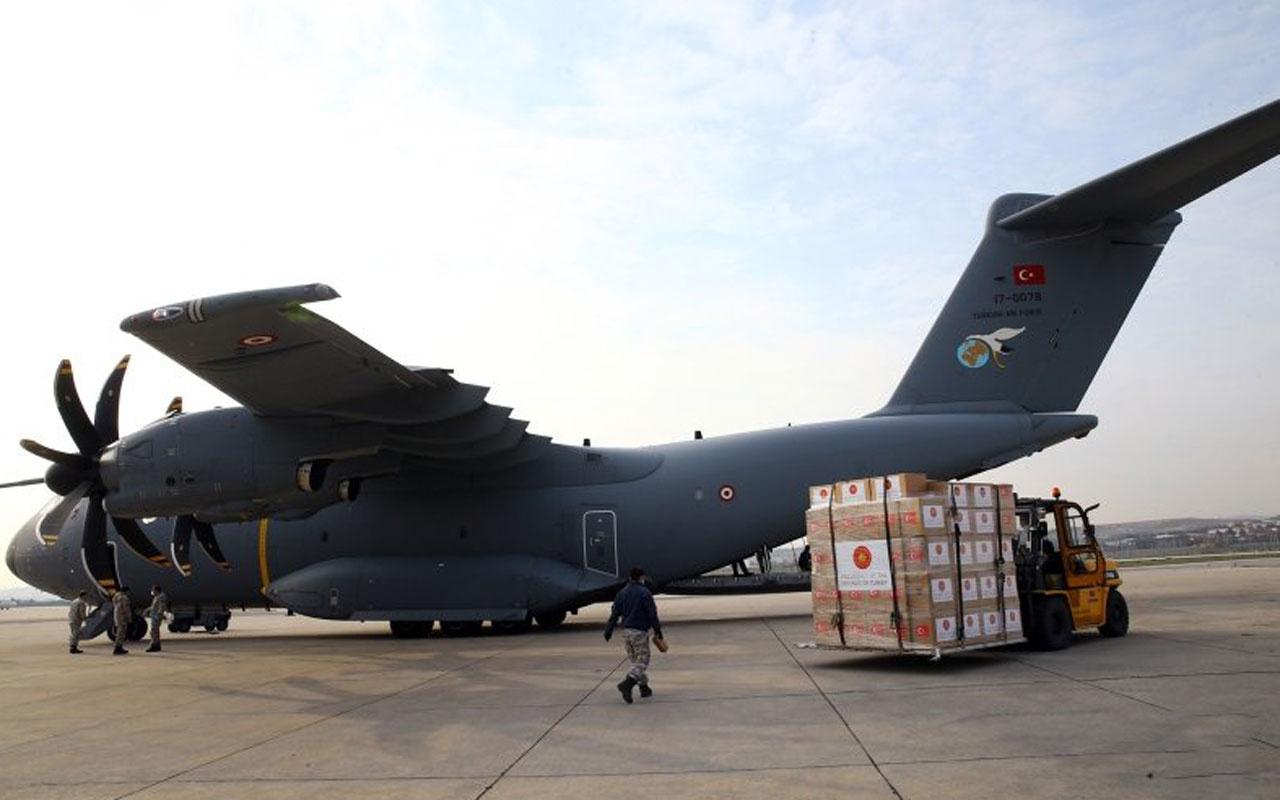 Türkiye, Güney Afrika'ya da tıbbi yardım gönderdi